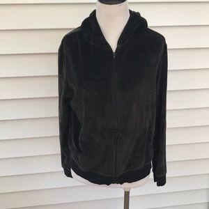 Victoria secrets black fleece hoodie